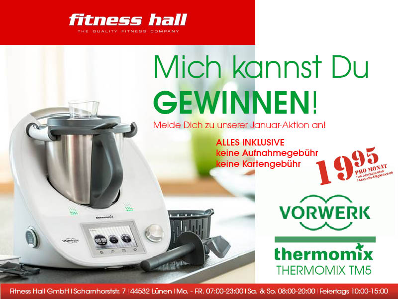 thermomix tm5 zu gewinnen bis zum fitness hall l nen. Black Bedroom Furniture Sets. Home Design Ideas